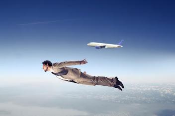 Flying - The Vicar's latest blog