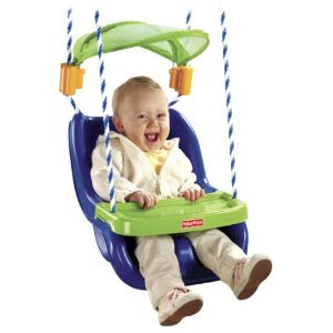Pre-kindergarten toys - Fisher-Price Infant to Toddler Swing with Sunshield (V7597)