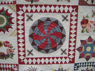 The Morrell Quilt by Carole @ Wheels on the Warrandyte Bus