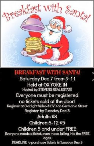 12-3 Register For Breakfast With Santa