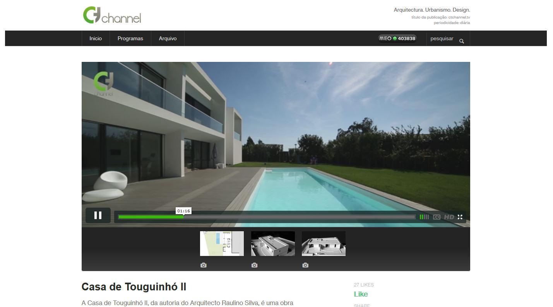 Casa em Touguinhó (II) - reportagem e entrevista