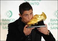 sepatu emas cristiano ronaldo