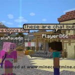 Minecraft Mods Chat Bubbles 1.7.2/1.6.4
