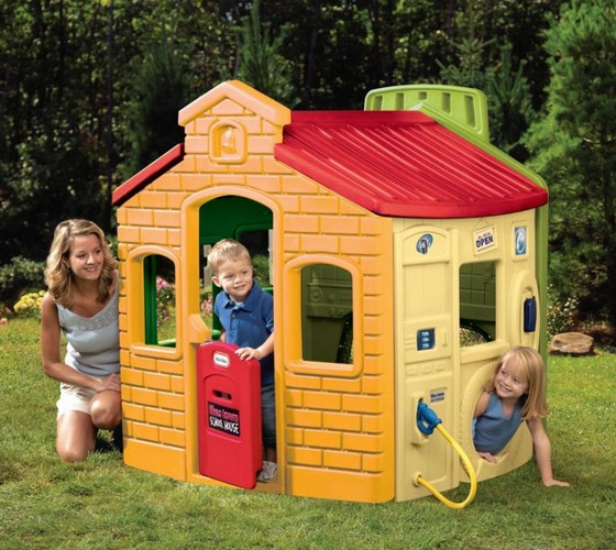 little tikes deluxe home and garden playhouse instructions