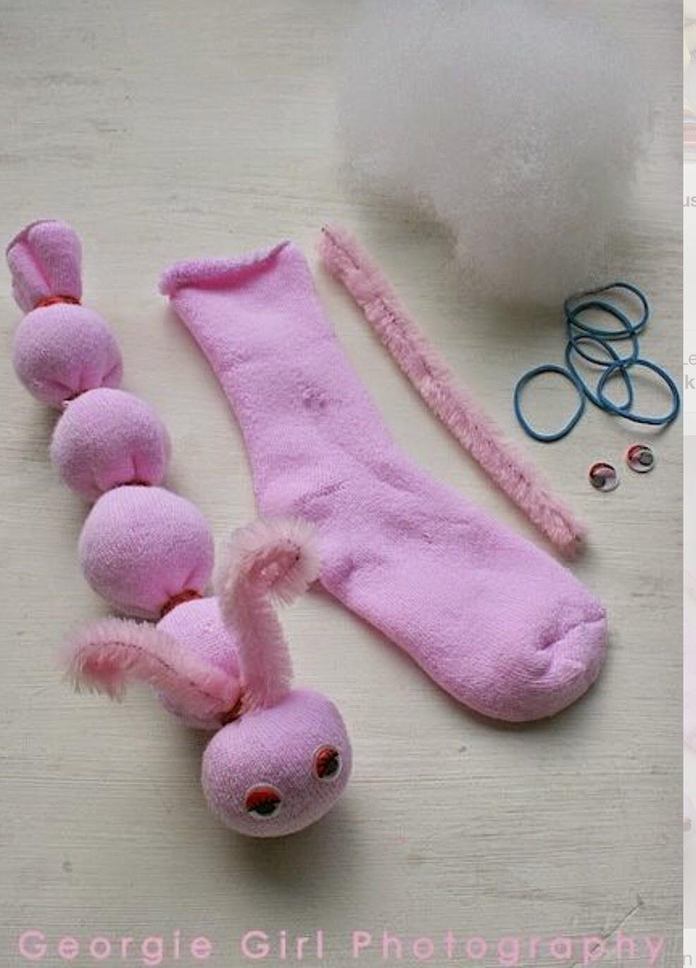 Çoraptan Kolay Oyuncak Fil Yapımı