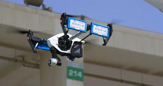 Nokia gebruikt drones om netwerk te inspecteren