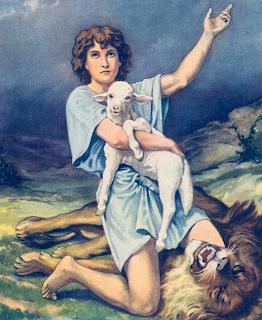 David - Bible Story Reader Book One (Artist unknown)
