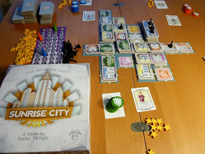 Sunrise City game in play