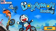 Doraemon: Bicycle Racing Game Play Online