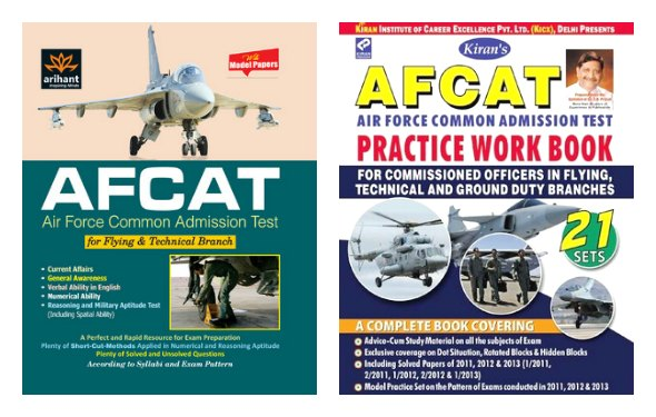 Best Books for AFCAT Exam Preparation 2014