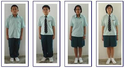 Baju uniform sekolah Singapura
