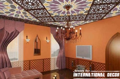 Latest trends to decorate the living room for Arabic living room decoration