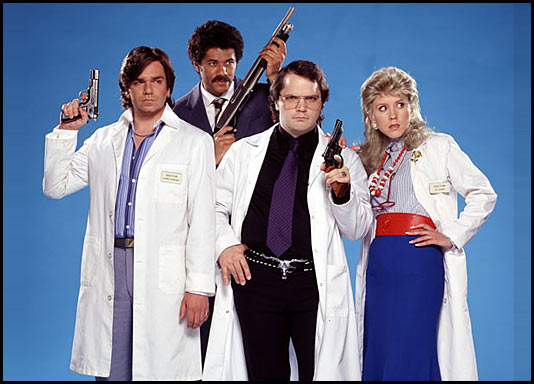 The cast of Darkplace
