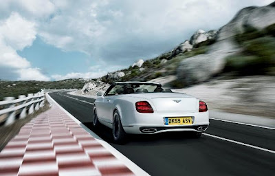 Bentley Continental Supersports Convertible на E85