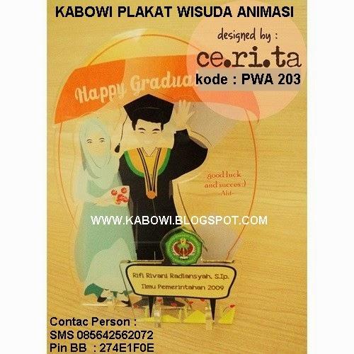 animasi kabowi boneka wisuda kado hadiah graduation untuk pacar buat ...