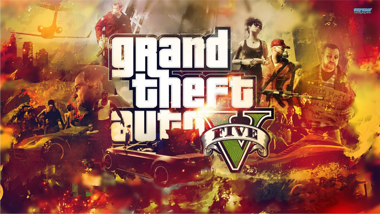 Wallpaper GTA 5 HD