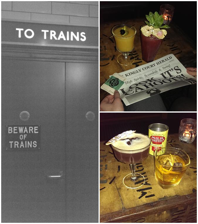 cahoots hidden underground bar soho london wartime theme