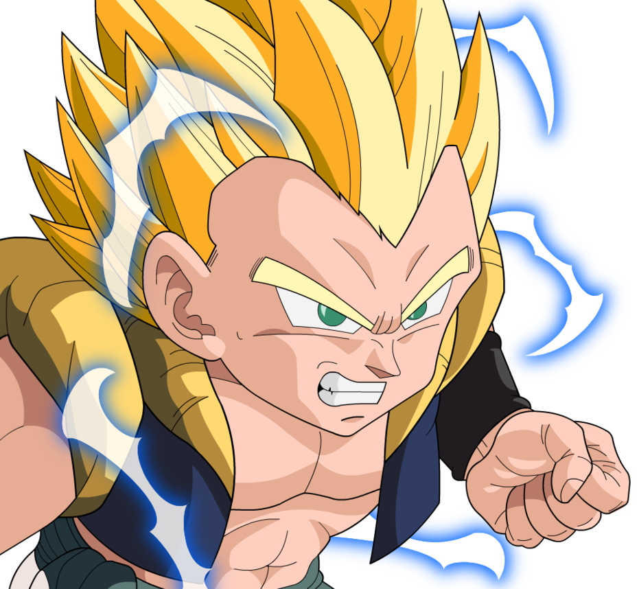 DRAGON BALL Z WALLPAPERS: Gotenks super saiyan