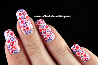 polka dot nail tutorial