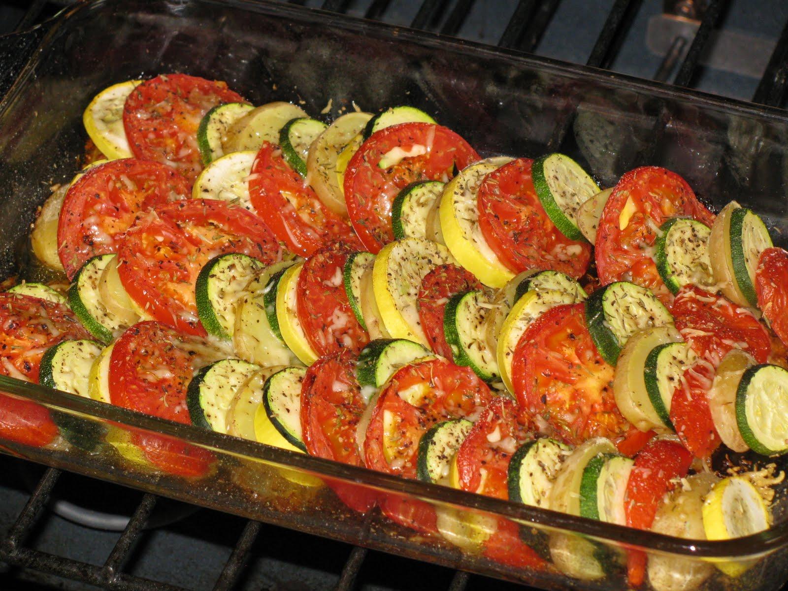 Рецепт кабачков с помидорами и сыром с пошагово