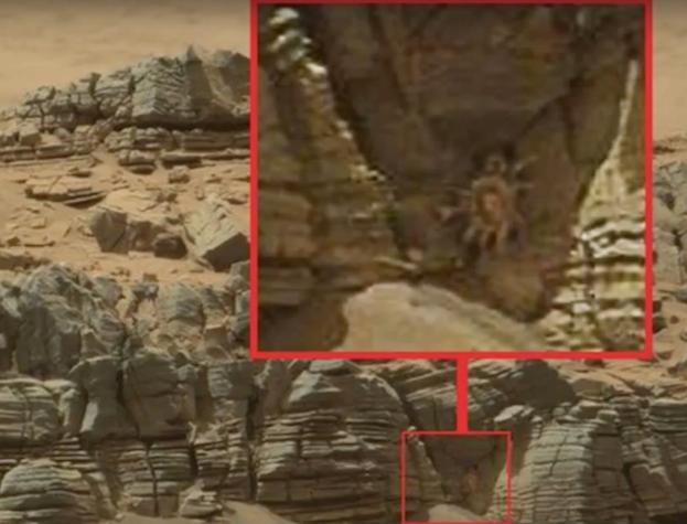mars Naked alien