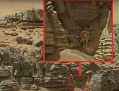 Giant Alien Crab Found On Mars 2015, UFO Sighting News