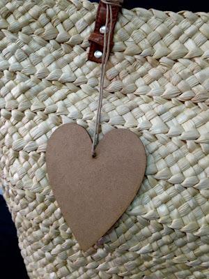 Silueta de madera CORAZÓN para pintar con ChalkPaint