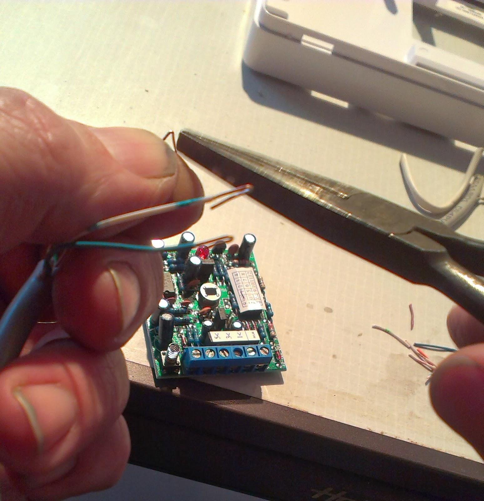 Burglar Alarm wiring