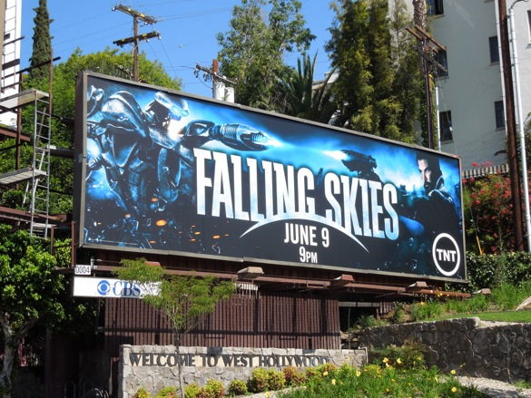 Falling Skies season 3 billboard