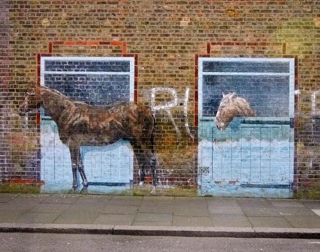 The massive Mauleverer Road Mural in Brixton, is being destroyed to make way for new flats
