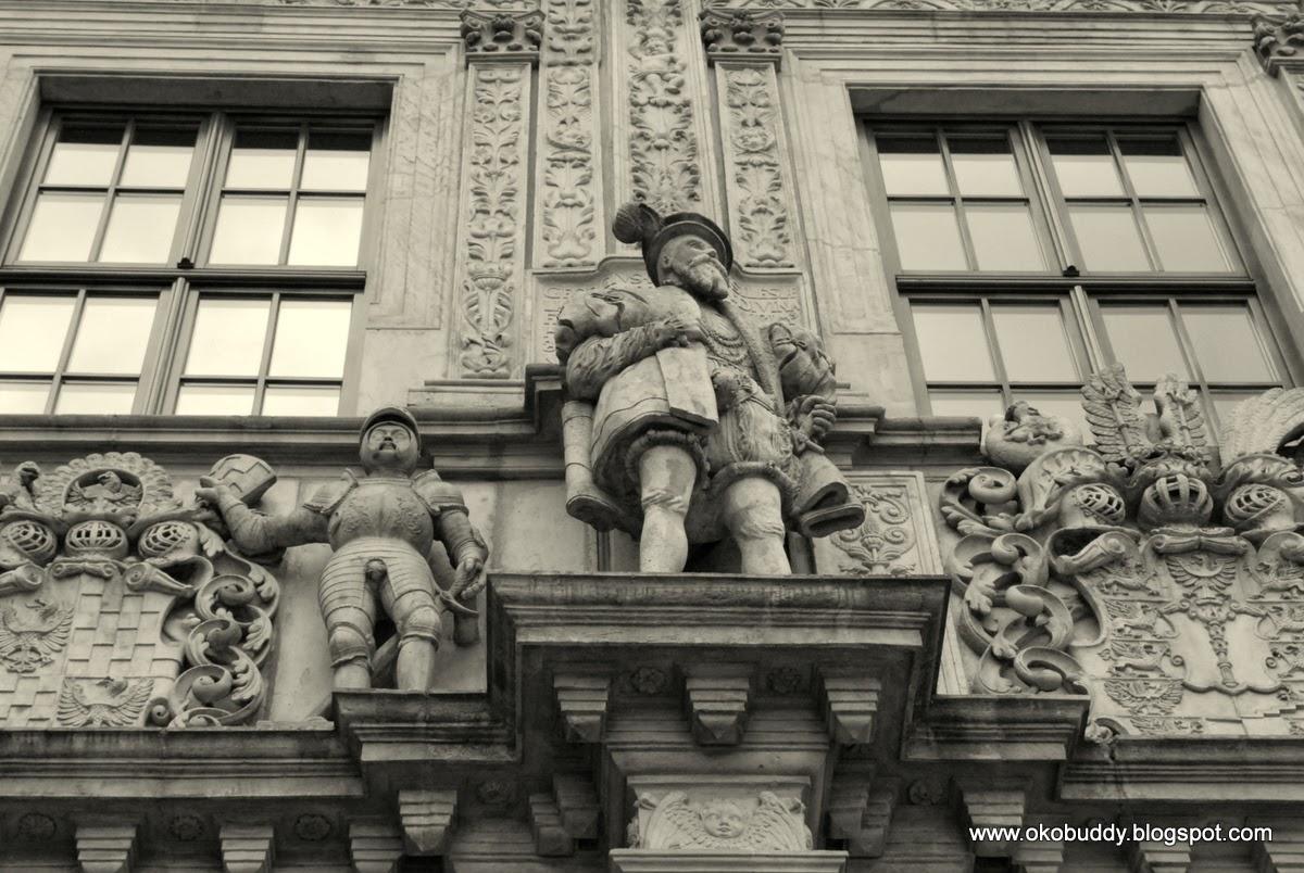 Brzeg - Zamek. Front zamku