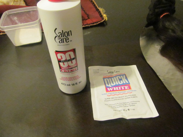 Mookeh S Blog Diy How To Achieve An Ombre Hair