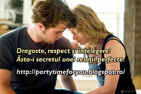 Dragoste, respect şi înţelegere! Ăsta-i secretul unei relaţii perfecte