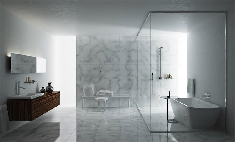 Tinas De Baño Para Mobile Home:Marmi di Carrara / homifyes