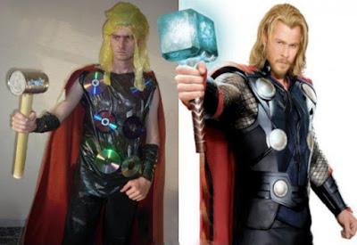 Disfraces de superhéroes realmente cutres