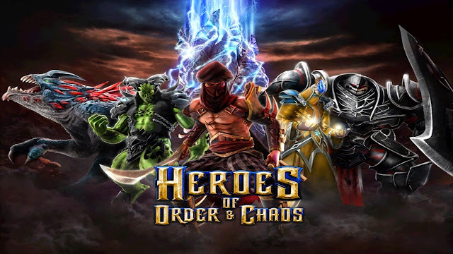 Heroes of Order & Chaos v2.0.0l APK MOD