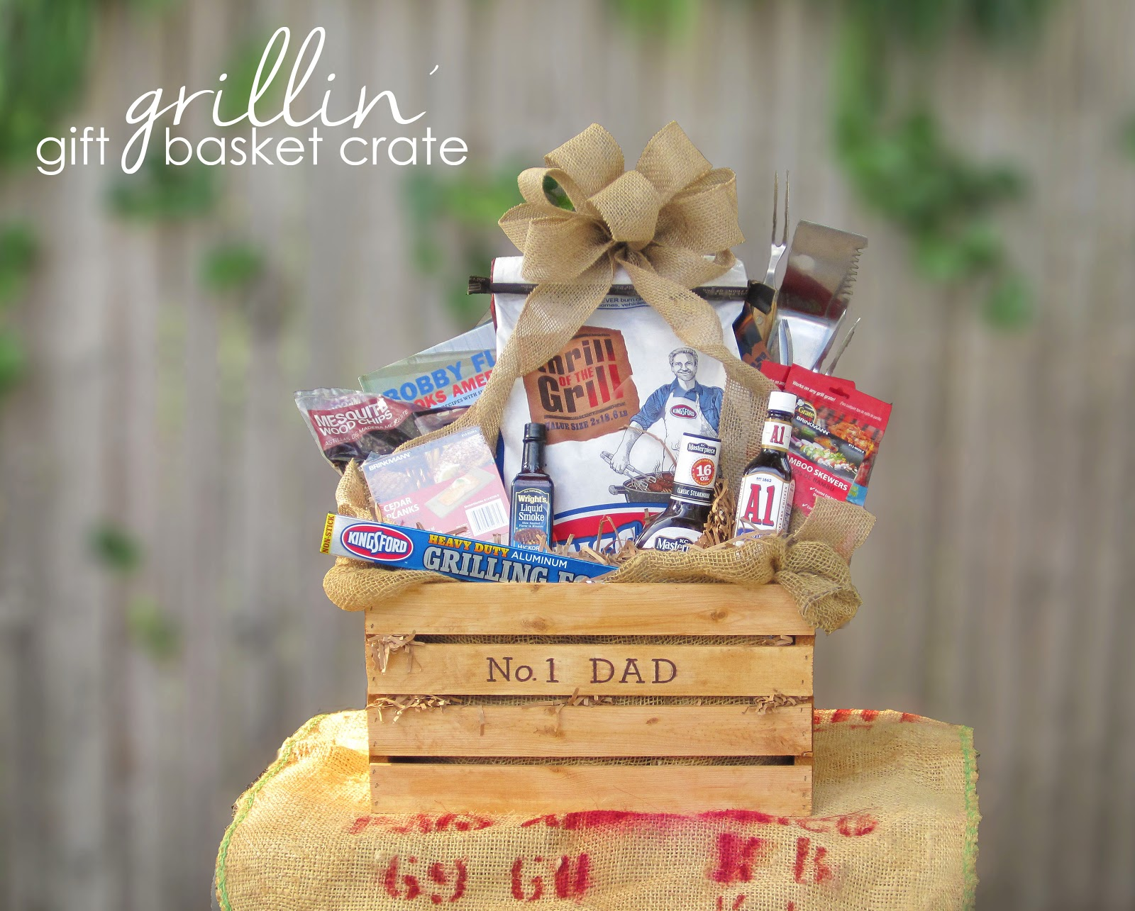 365 designs father s day grillin gift basket crate