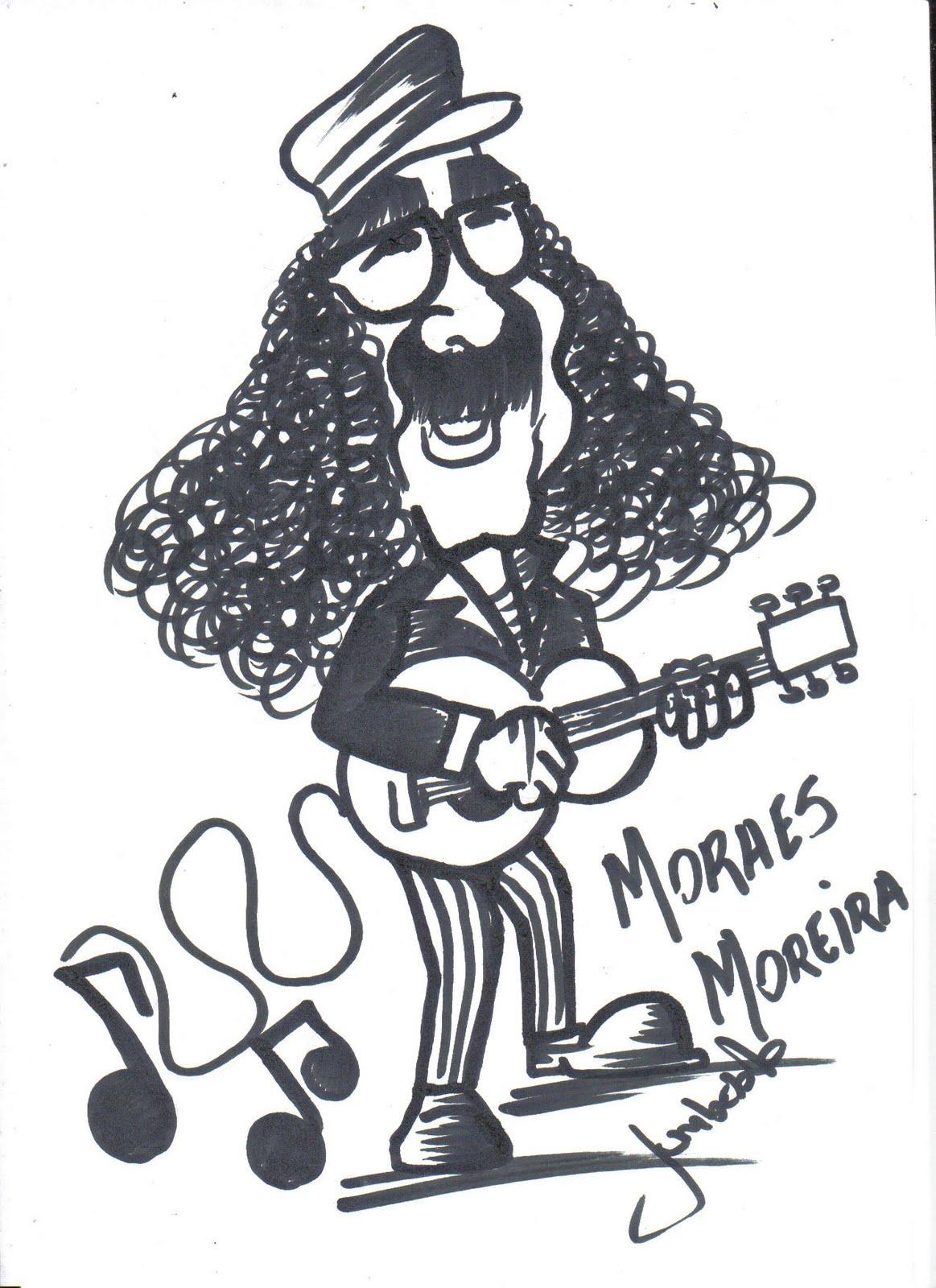 Caricaturas: Moraes Moreira