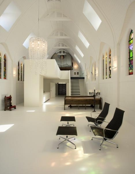 converted church home design