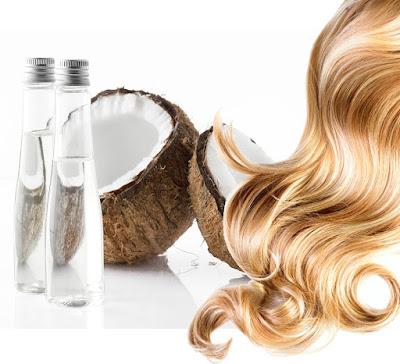 Làm đẹp tóc bằng dầu dừa