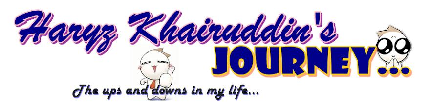 Haryz Khairuddin's Journey