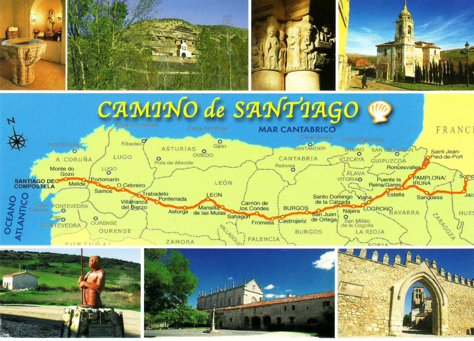 Moonlights UNESCO WHS Blog Spain Route of Santiago de Compostela