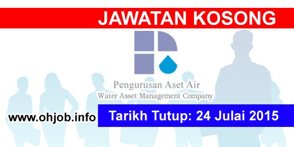 Jawatan Kerja Kosong Pengurusan Aset Air Berhad (PAAB) logo www.ohjob.info julai 2015