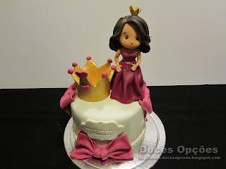 bolo aniversário princessa bragança