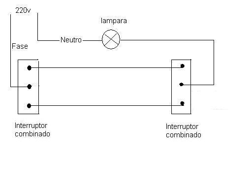 Instalaciones electricas domiciliarias interruptor y - Instalar interruptor conmutador ...