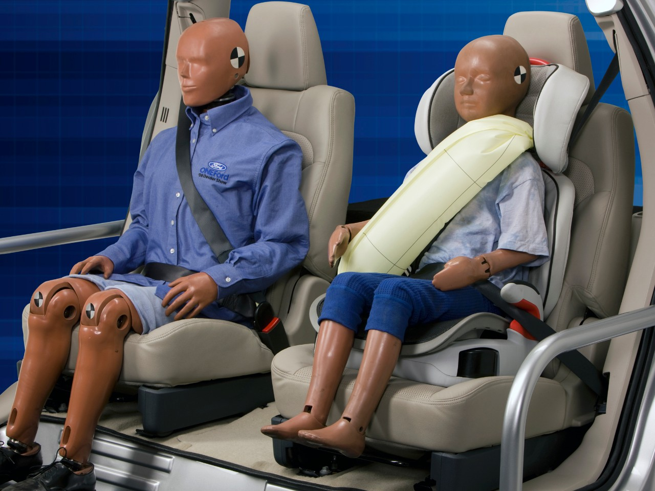 Ford Hopes to Encourage Expanded Adoption of Inflatable Safety Belt