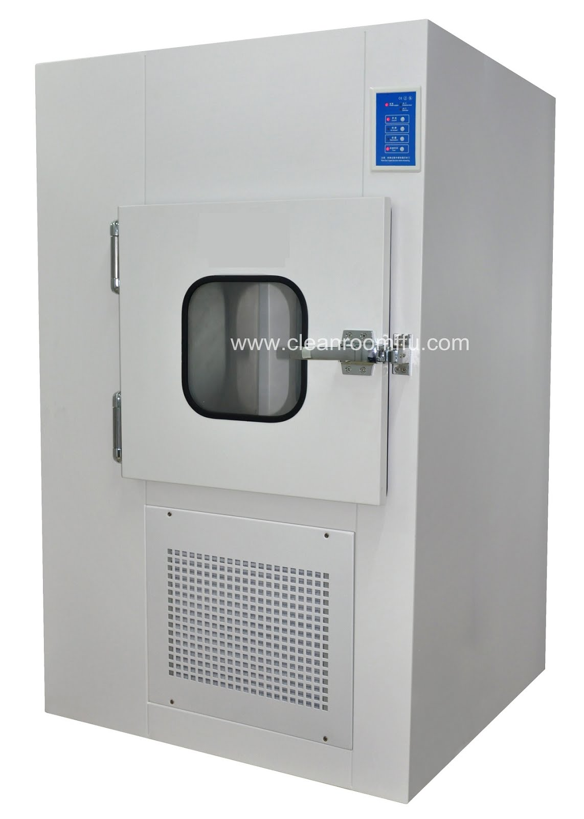 Cleanroom Pass Through Box with Air Shower