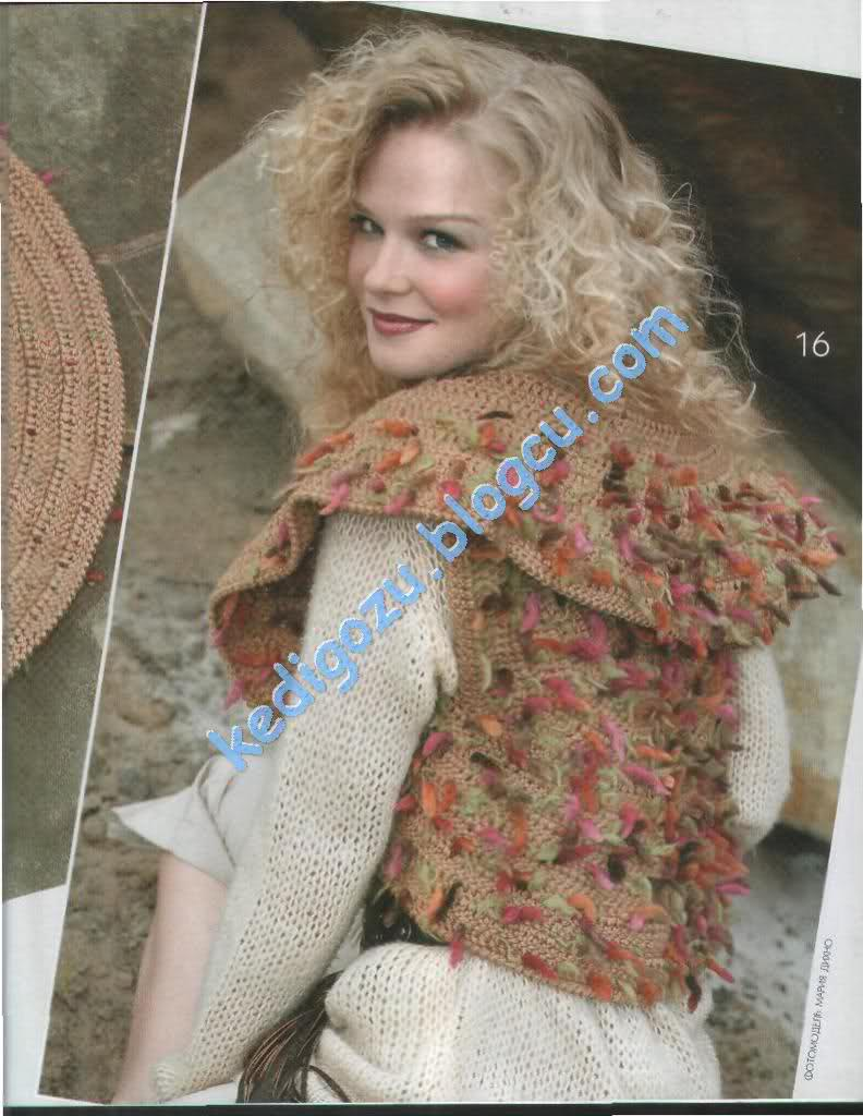 Crochet Models : free knitting pattern: free new crochet bolero models