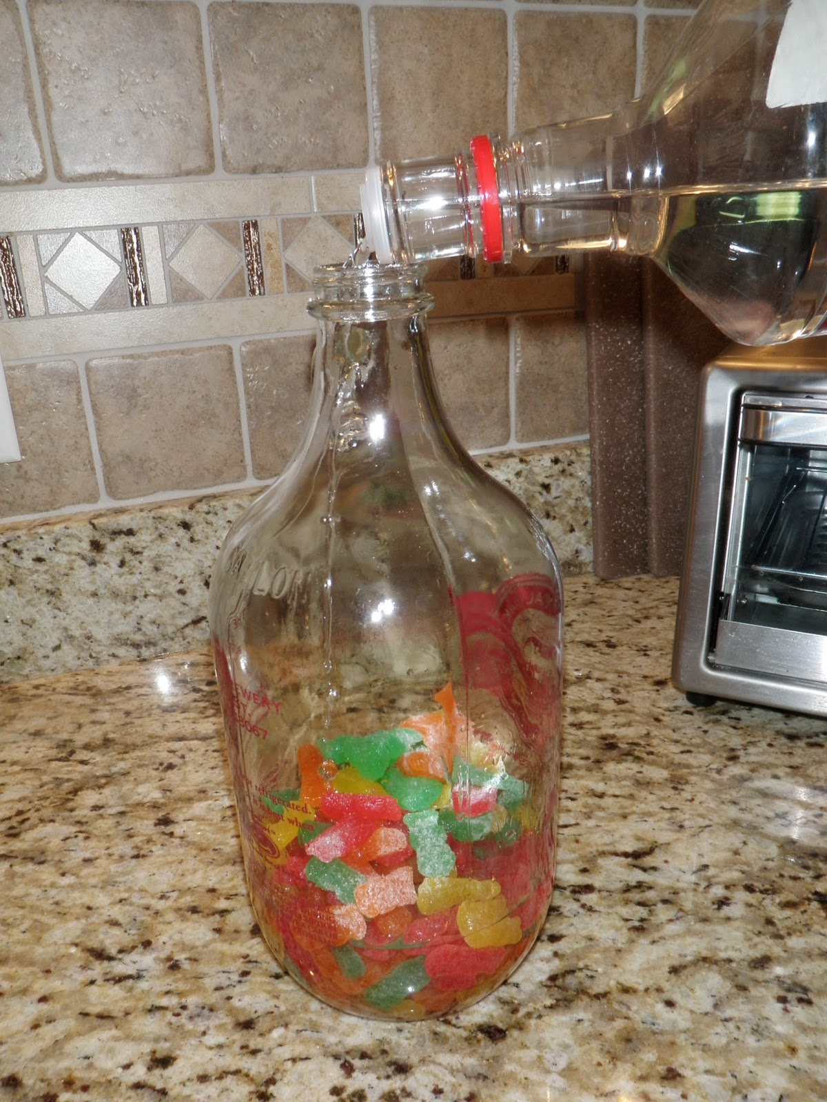 Sour Patch Vodka Gummies