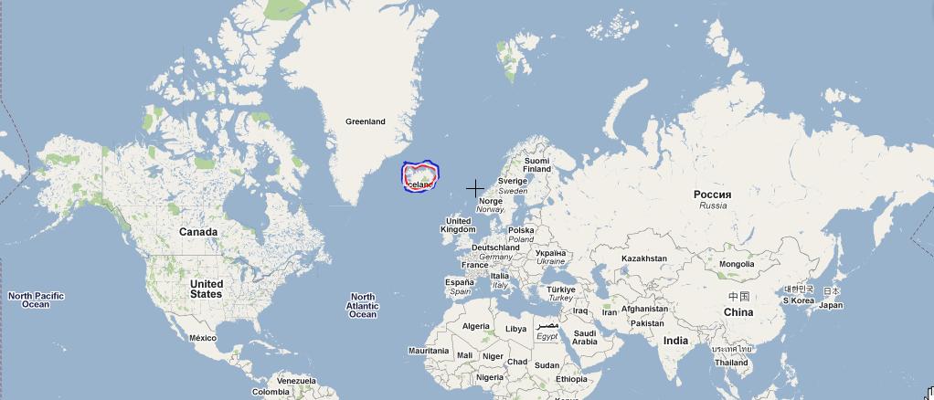 Tanis Blog Iceland Location - Iceland latitude